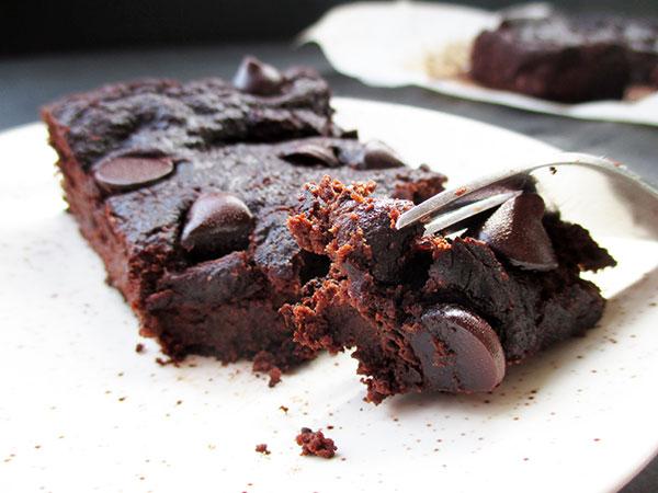 Vegane Glutenfreie Erdmandel Brownie Schnitten Ohne Nuesse Rezept
