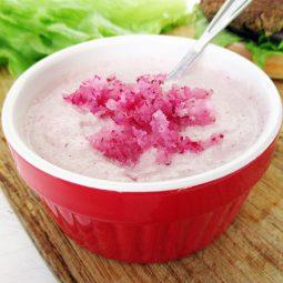 Rohköstlicher Radieschen Dip / Sauce (Vegan, Glutenfrei)