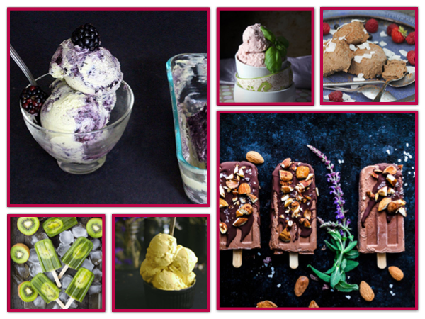 Vegan Ice-Cream Recipes Eis Rezepte