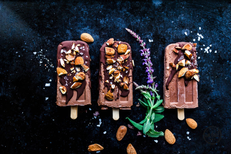 Double Nut Schoko Popsicles von Eat This