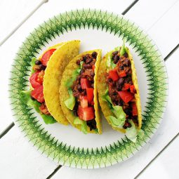 Fruity & Spicy Bean Taco Filling (Vegan, Gluten-free)