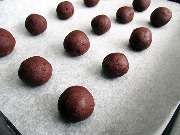 Vegane Glutenfreie Dreifach Schokoladen Cookies Rezept
