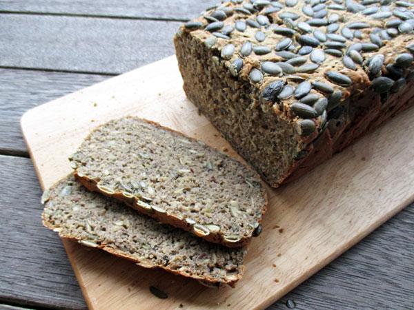 Veganes Glutenfreies Kürbiskern Brot Rezept