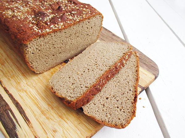 Einfaches Veganes Glutenfreies Buchweizen Brot Rezept