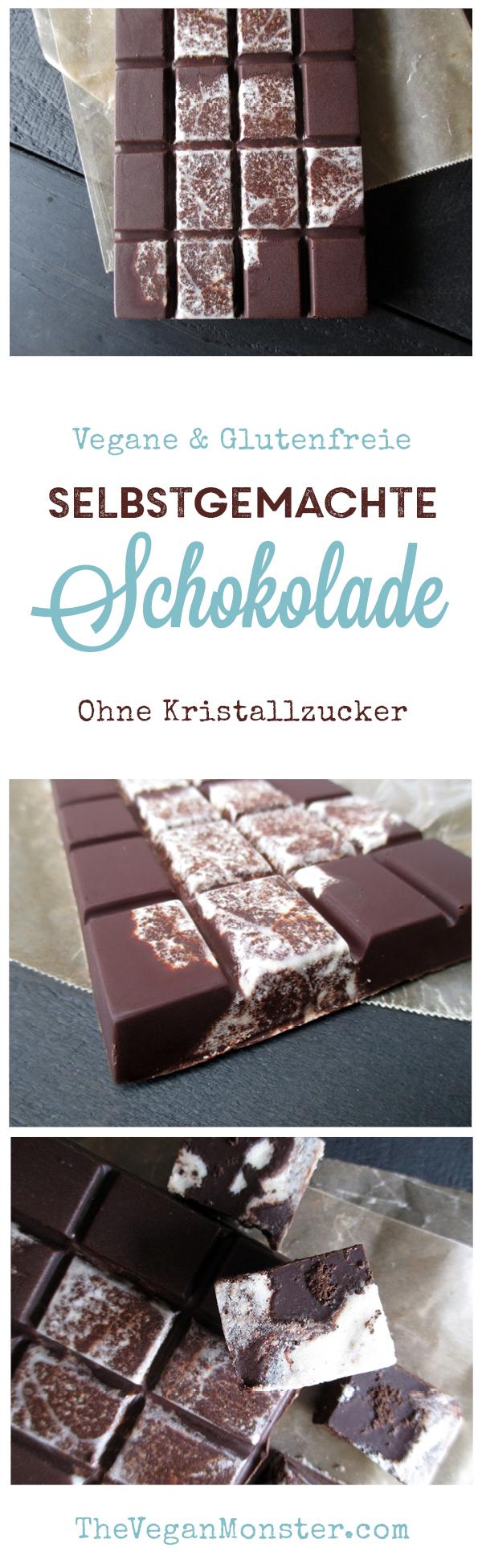Hausgemachte Vegane Schokolade Ohne Kristallzucker Rezept