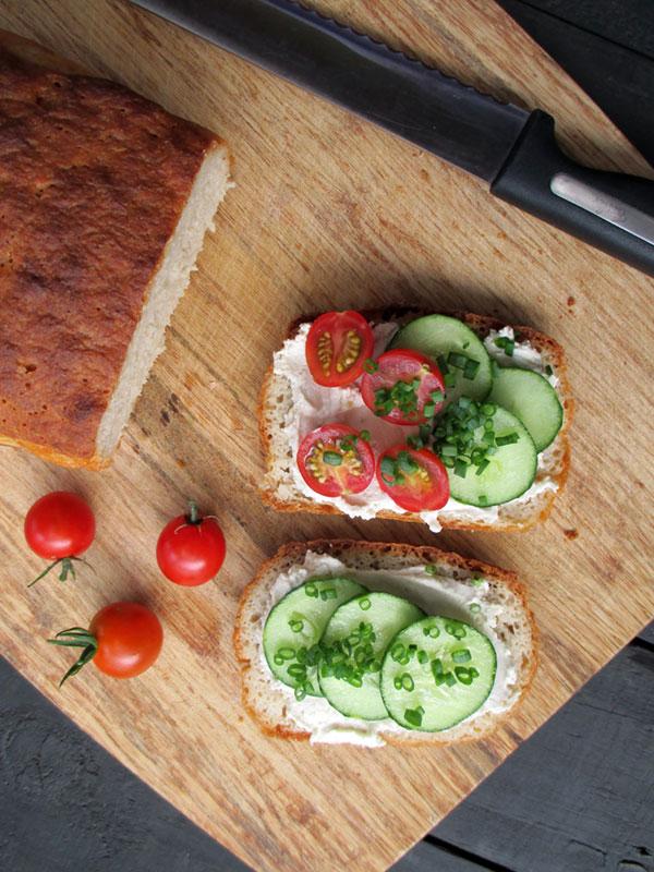 Veganes Glutenfreies Kartoffel Brot Rezept