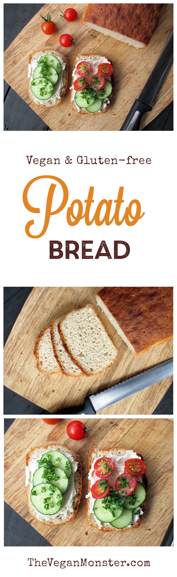Vegan Gluten-free Potato Bread Recipe