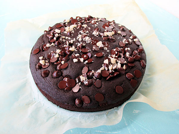 Veganer Glutenfreier Macadamia Schokoladen Kuchen Rezept