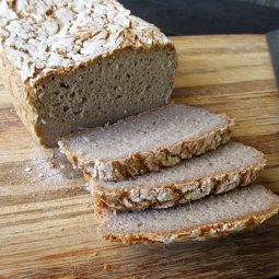 Super Easy Buckwheat Bread (Vegan, Gluten-free)