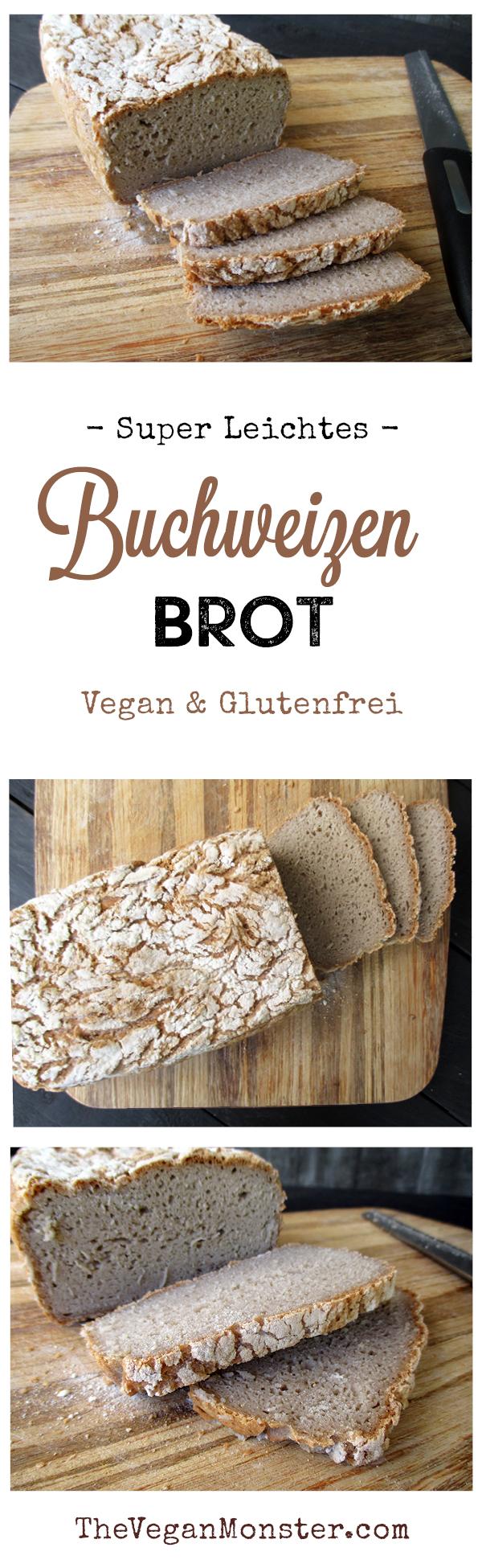 Veganes Glutenfreies Super Einfaches Buchweizen Brot Rezept