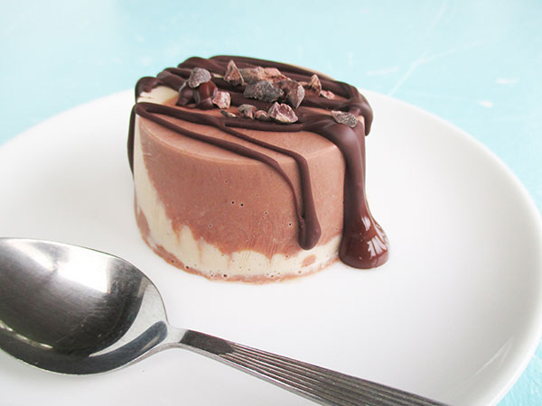 Vegan Gluten-free Dairy-free Chocolate Vanilla Mini Ice Creams Recipe - Vegane Glutenfreie Mini Schokolade Vanille Eiscreme Rezept