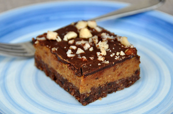 Vegan Gluten-free No-Bake Caramel Slice Recipe
