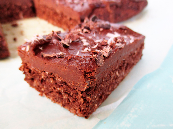 Vegan Glutenfree Coconut Chocolate Cake Slice Recipe Without Refined Sugar No Added Oil