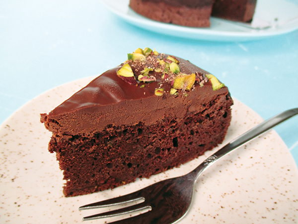 Vegan Glutenfree Zucchini Chocolate Cake Recipe Without Oil - Veganer Glutenfreier Zucchini Schokoladen Kuchen Rezept Ohne Oel