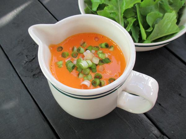 Vegan Gluten-free Easy Oil-free Capsicum Vege Salad Dressing Recipe - Veganes Glutenfreies Super Einfaches Paprika Salat Dressing Ohne Oel Rezept