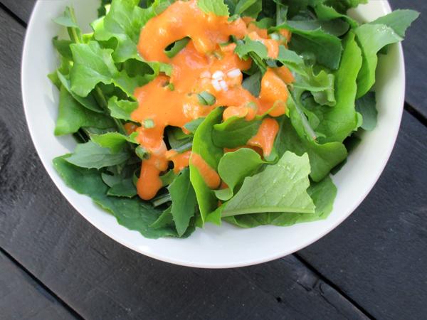 Vegan Gluten-free Easy Oil-free Capsicum Vege Salad Dressing Recipe