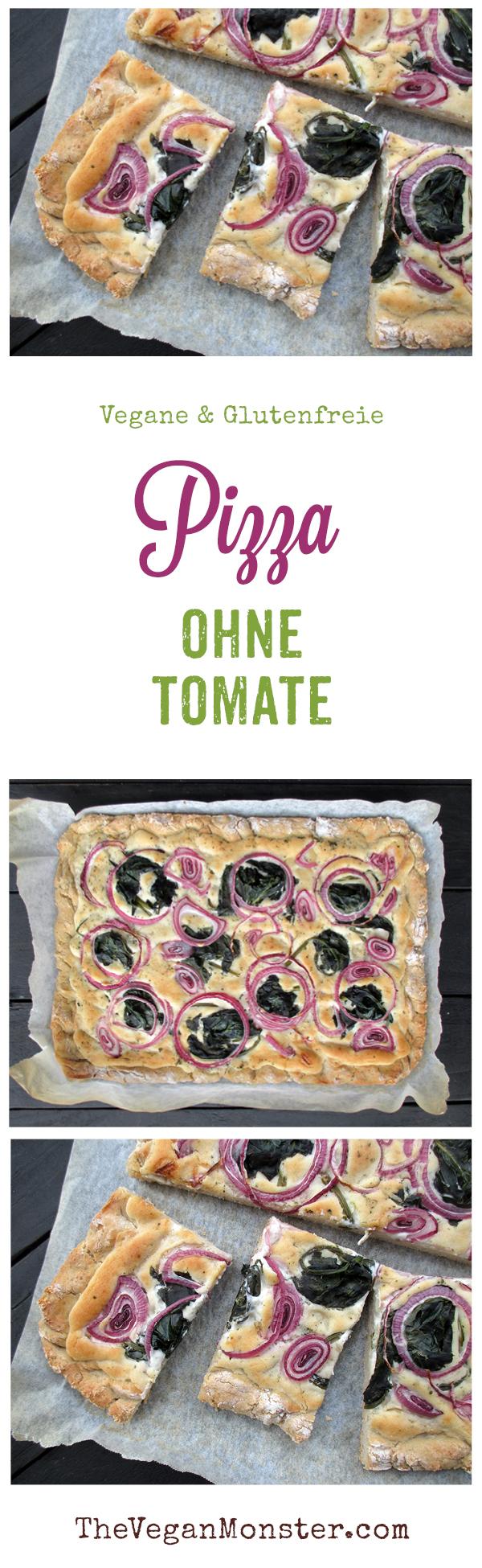 Vegane Glutenfreie Pizza Flammkuchen Ohne Tomate Rezept