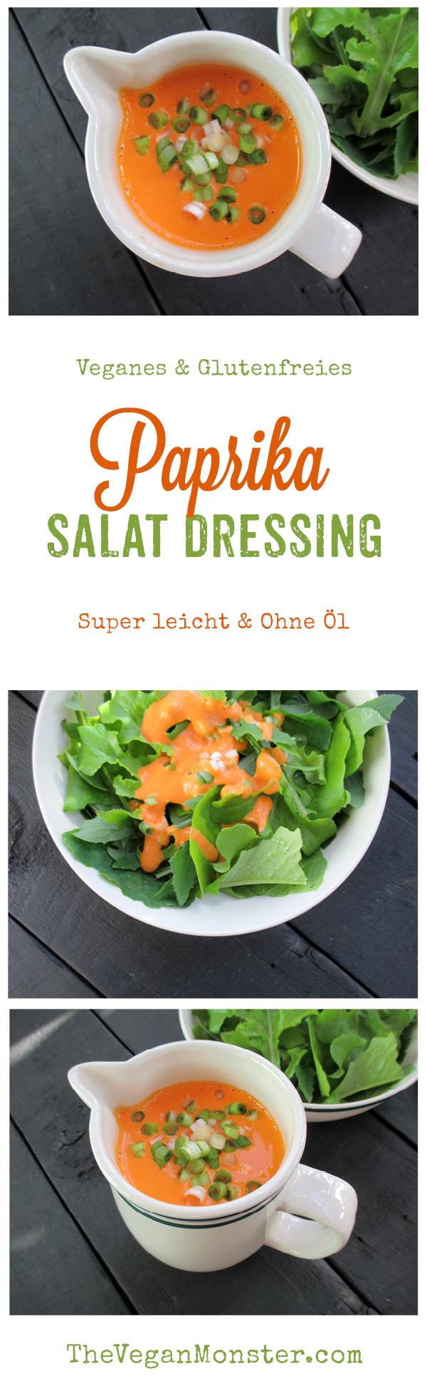 Veganes Glutenfreies Super Einfaches Paprika Salat Dressing Ohne Oel Rezept