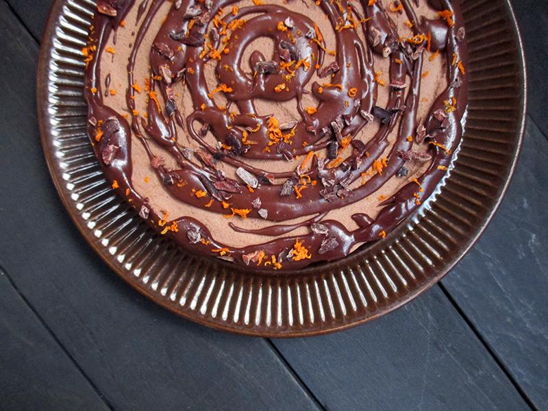 Vegane Glutenfreie Nix Backen Haselnuss Orangen Schokoladen Torte Ohne Kristallzucker Rezept