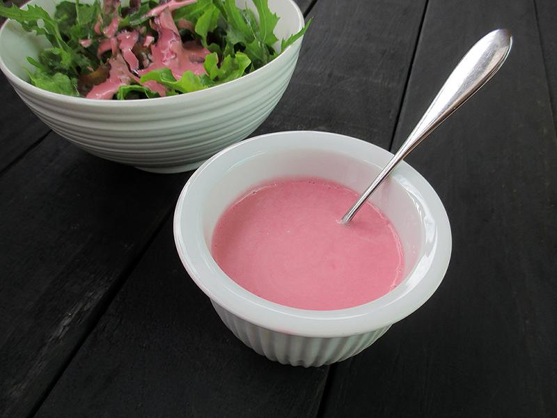 Vegan Gluten-free Dairy-Free Soy-Free Pink Ranch Dressing Recipe