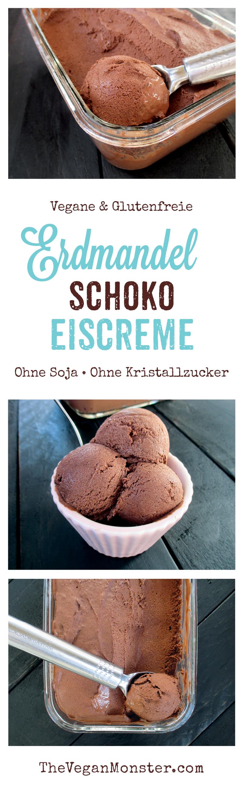 Vegane Glutenfreie Erdmandel Schokoladen Eiscreme Ohne Kristallzucker Ohne Soja Rezept