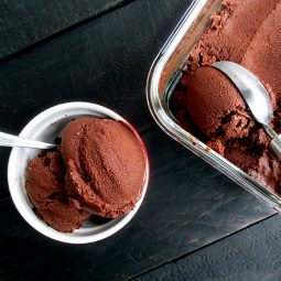 Super Easy Avocado Chocolate Ice Cream (Vegan, Gluten-free, No Refined Sugar)