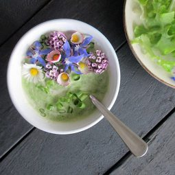 Flower Power Salad Dressing (Vegan, Gluten-free, Oil-free)