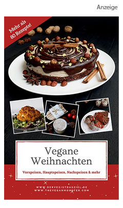 Vegane Weihnachten - Ebook Vegane Glutenfreie Rezepte