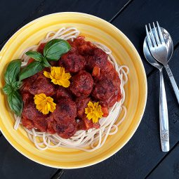 Nix Fleisch Quinoa Bällchen (Vegan, Glutenfrei, Ohne Öl)