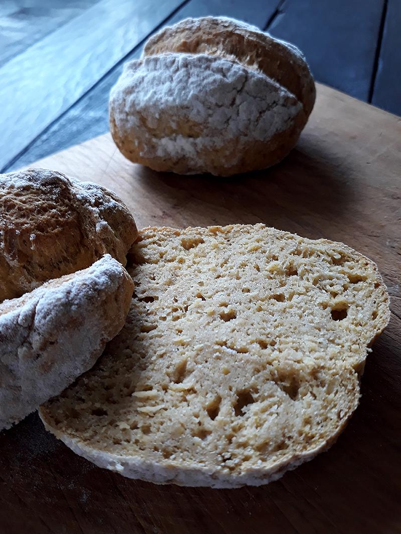 Bread Rolls Without Yeast (Vegan, Gluten-free, Oil-free ...