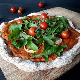 Potato Pizza (Vegan, Gluten-free, Yeast-free)
