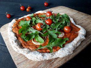 Kartoffel Pizza (Vegan, Glutenfrei, Ohne Hefe)